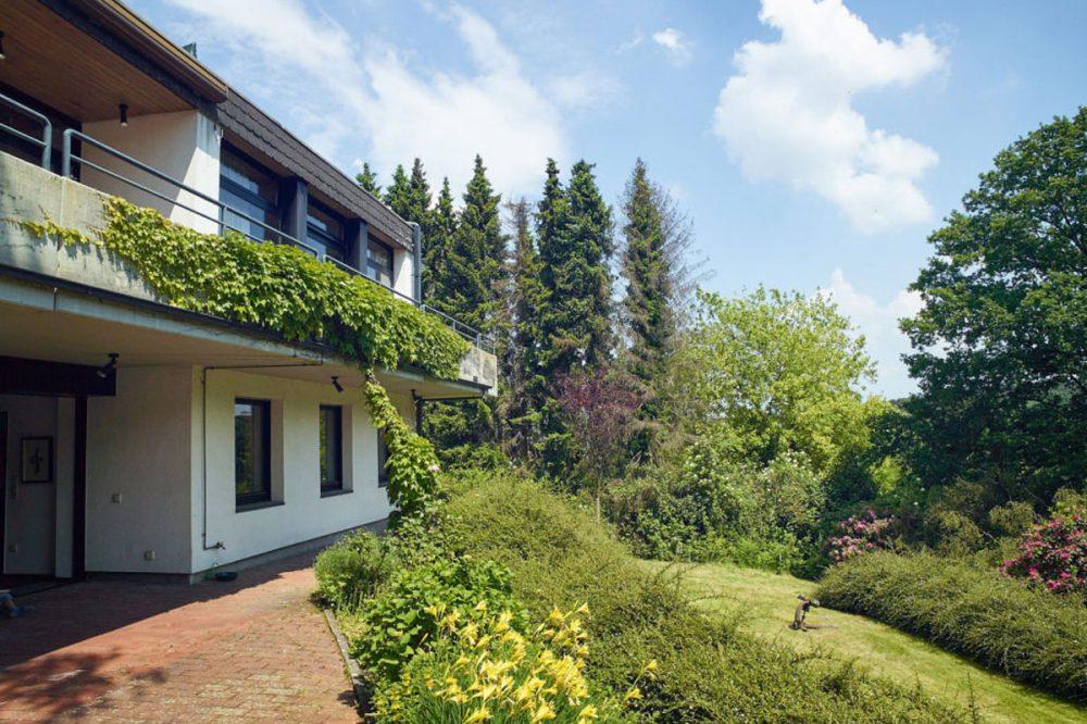 Villa in Witten Rüdinghausen mit Parkanlage