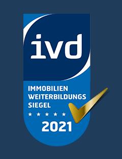 IVD Immobilien Weiterbildungs Siegel 2021